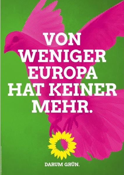 Von weniger Europa hat keiner mehr.