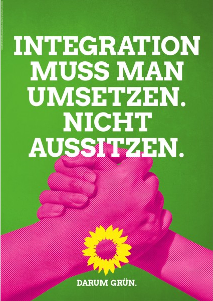 Integration muss amn umsetzen nicht aussitzen.