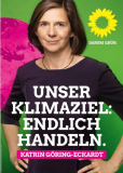 Kathrin Göring-Eckhard - Unser Klimaziel: Endlich handeln.