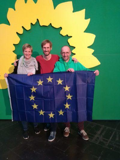 Unsere Delegierten mit Jan Ovelgönne. Europakandidat Hochsauerland. Listenplatz 24