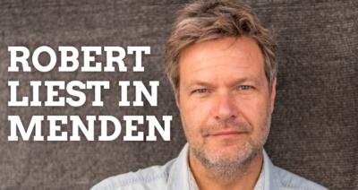Robert Habeck liest in Menden @ großen Saal der Wilhelmshöhe