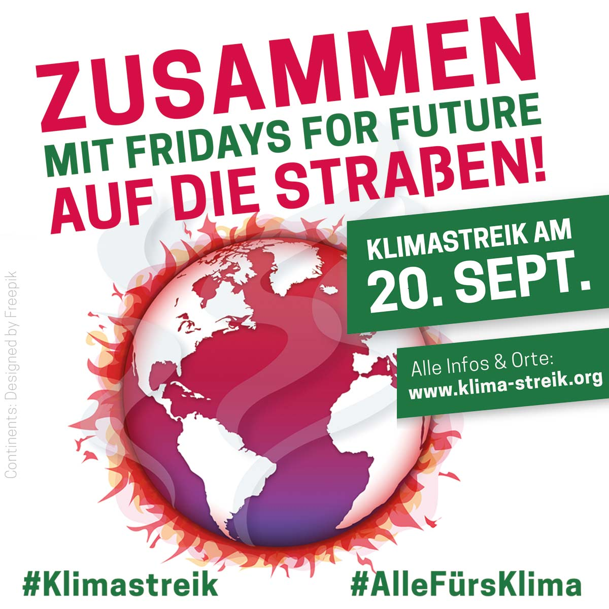globaler Klimastreik am 20. September 2019