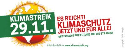 Klima-Streik @ in vielen Städten Deutschlands