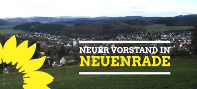 Neunwahl des Vorstandes in Neuenrade