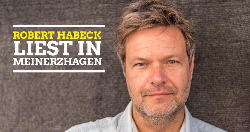 Robert Habeck liest in Meinerzhagen