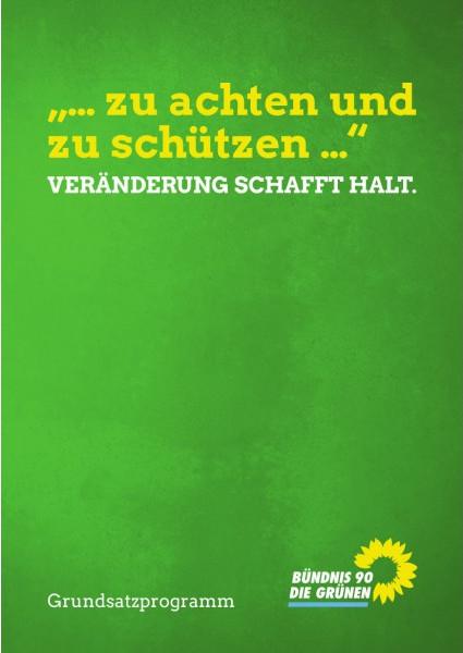 Grundsatzprogramm von BÜNDNIS 90 / DIE GRÜNEN
