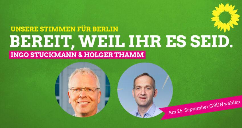 BTW Kandidaten Ingo und Holger