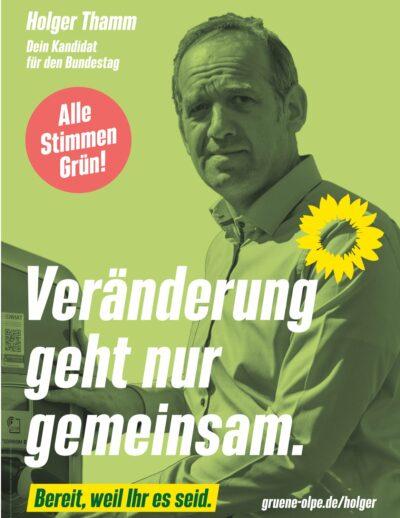 Plakat Holger Thamm