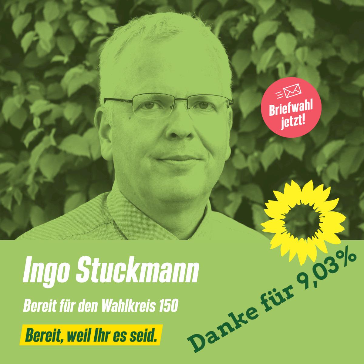 Ingo Stuckmann, BTW-Kandidat 2021 für den Wahlkreis 150