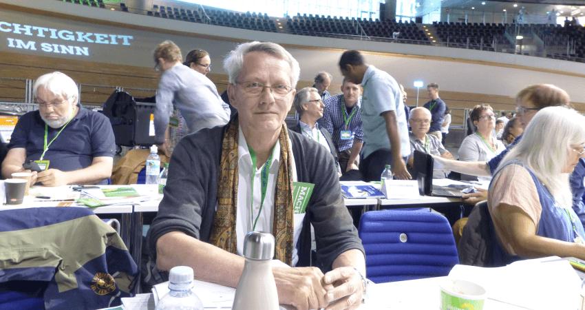 Christian Hohn bei der Bundesdeligiertenkonfernez (BDK)