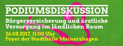 Podiumsdiskussion @ Stadthalle Meinerzhagen | Meinerzhagen | Nordrhein-Westfalen | Deutschland